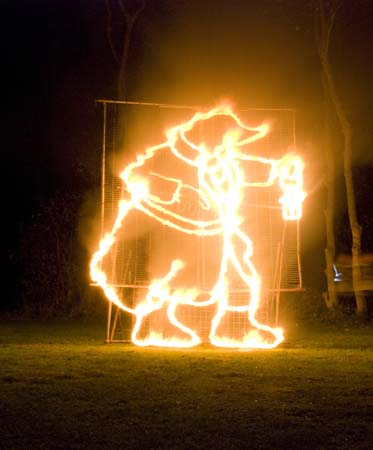 Moley Fire Sculpture